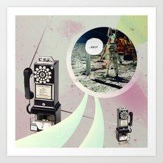|NO SERVICE| Art Print
