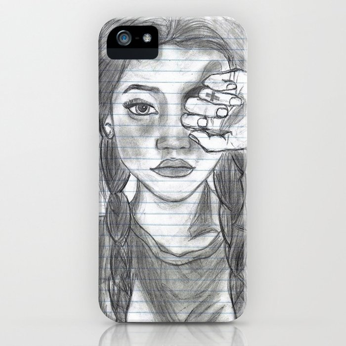Tumblr Girl Iphone Case By Jazzymundo Society6