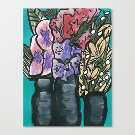 Flowers that last Canvas Print