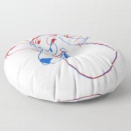 Dr. Jekyl, Mr. Stevie Floor Pillow