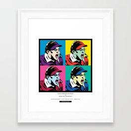 Art Gecko - TCU vs TTU 11/18/17 Framed Art Print