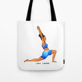 Low Lunge Tote Bag