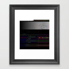 Screensourcing Framed Art Print