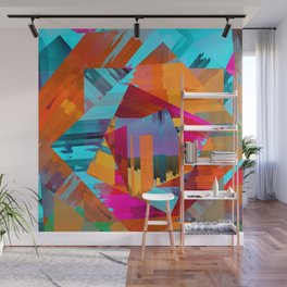 Abstract Layers 1 Wall Mural