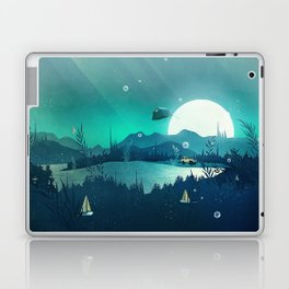 Beneath Barafundle Laptop & iPad Skin