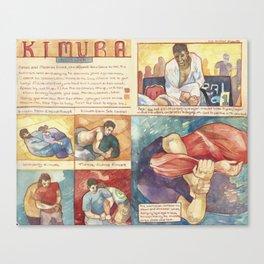 Kimura Canvas Print