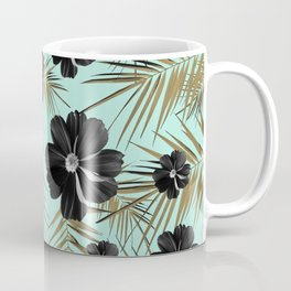 Tropical Diamond Flowers #3 #shiny #chic #floral #palms #decor #art #society6 Coffee Mug