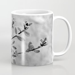 Morning frost (black and white) Coffee Mug