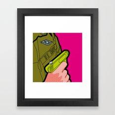 Pop Icon - War Machine Framed Art Print