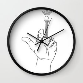 I FUCK YOU Wall Clock