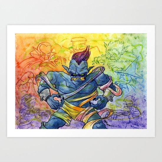 PLUS Art Print