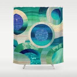 SEA-NCHRONICITY 2 Shower Curtain