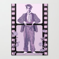 Buster Movie Hero Canvas Print