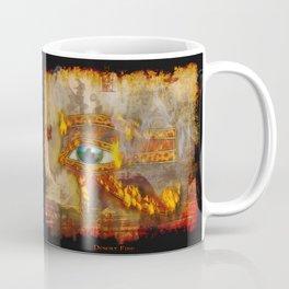 Desert Fire - Eye of Horus Coffee Mug
