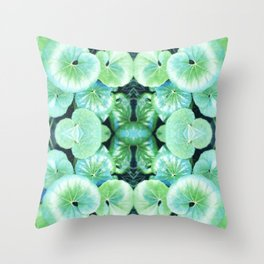 Kermit's Lily Pads (It's Not Easy Being Green) Throw Pillow