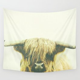 Shaggy Cow Wall Tapestry