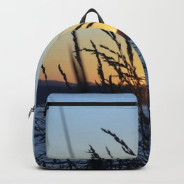 Sunset Sea Grass Backpack