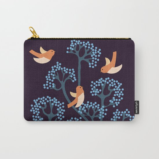 Birds Are singing Carry-All Pouch
