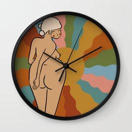 Booty Wall Clock