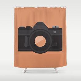 Camera Series: AE-1 Shower Curtain