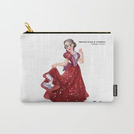 Princess Susan B. Anthony (Trumble Cartoon) Carry-All Pouch