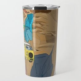 The World in his body Travel Mug