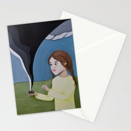 Protect Me From The Storm Stationery Cards