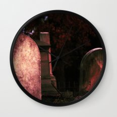 Sunset Stones (version 2) Wall Clock