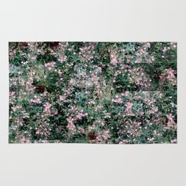 Pink Berry Pattern Rug