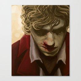 Enjolras Portrait Canvas Print