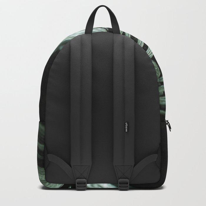 Tropical leaves 03 Backpack