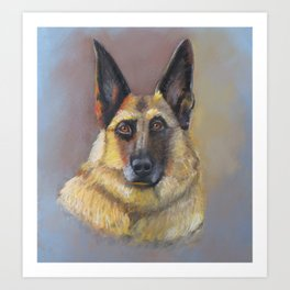 Every Dog Has Its Day Art Print