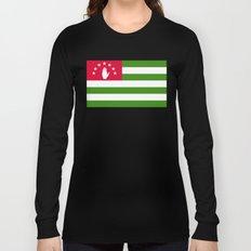 Abkhazia Flag Long Sleeve T-shirt