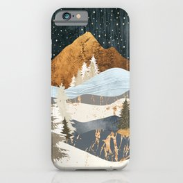Winter Stars iPhone Case