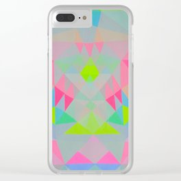 Trance Dance Clear iPhone Case