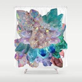 Aura Crystal Bouquet Mandala Shower Curtain