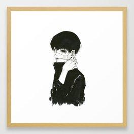 •Kuroneki• Framed Art Print