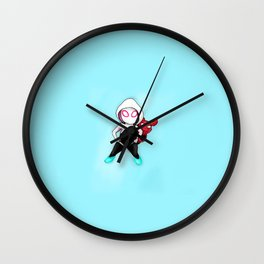 Spider-Gwen and Spider-Ham Wall Clock