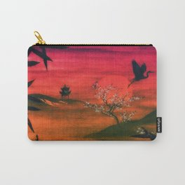 Oriental Sunset Carry-All Pouch