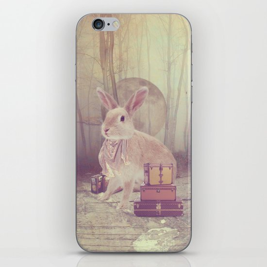 Fairy tale : rabbit iPhone & iPod Skin