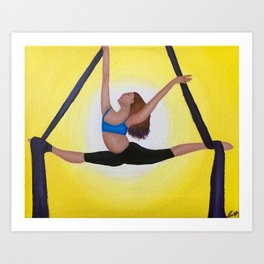 Aerial Dancer Art Print