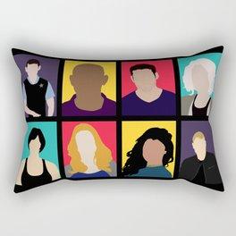 Sense8 Colors Rectangular Pillow