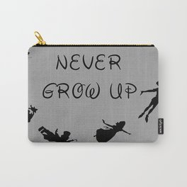 Never Grow Up - Inspired by Peter Pan Carry-All Pouch