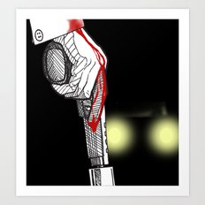 It All Ends Here... Art Print