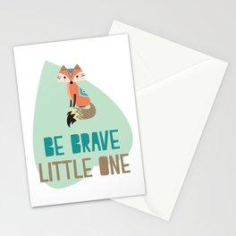 Brave Little Fox Stationery Cards