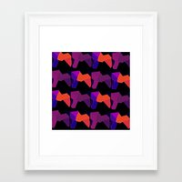lions Framed Art Prints featuring LIONS by lucborell