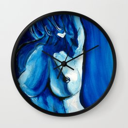 BlueLady Wall Clock