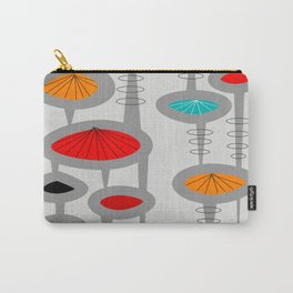 Mid-Century Modern Space Age 2 Carry-All Pouch