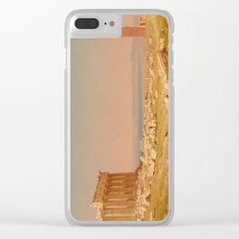 Ruins of the Parthenon Oil Painting by Sanford Robinson Gifford Clear iPhone Case