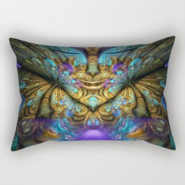 Transcendental - Fractal Manipulation Rectangular Pillow